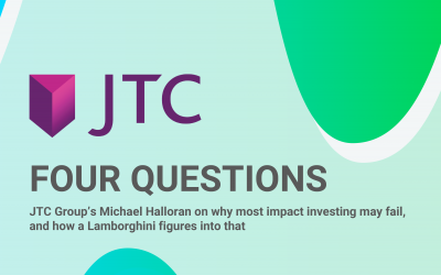FOUR QUESTIONS – JTC Group's Michael Halloran on why most impact investing may fail, and how a Lamborghini figures into that